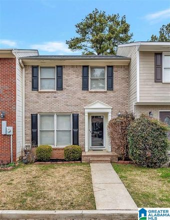 Rent this 2 bed townhouse on 5016 Falling Creek Ln in Birmingham, AL