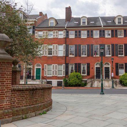 Rent this 2 bed apartment on S Washington Sq in Philadelphia, PA