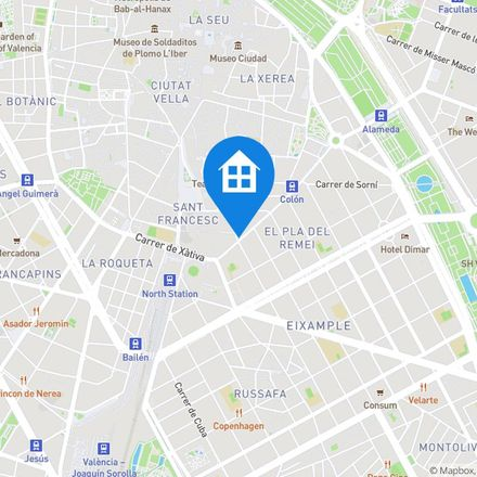 Rent this 4 bed apartment on Carrer de Colón in 11, 46002 Valencia
