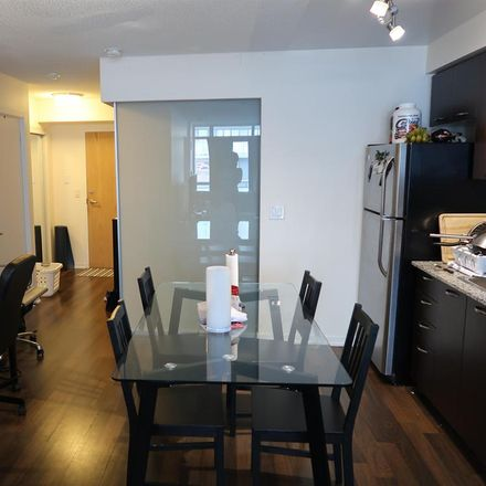 Rent this 1 bed room on Bridge Condominium in 38 Joe Shuster Way, Toronto