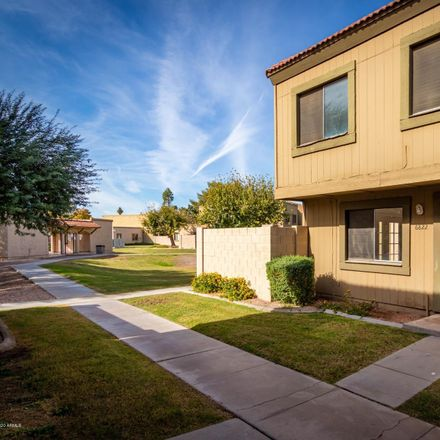 Rent this 3 bed townhouse on 6822 South Rita Lane in Tempe, AZ 85283