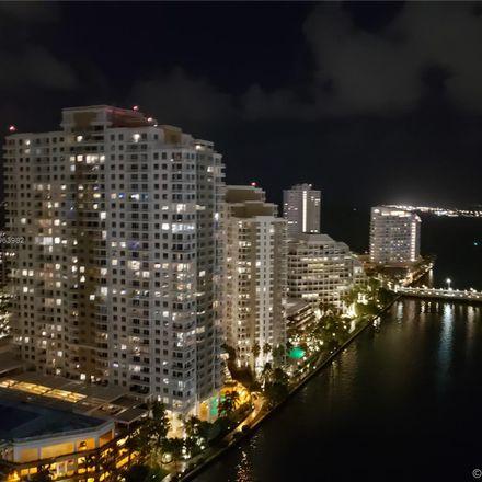 Rent this 2 bed condo on 465 Brickell Avenue in Miami, FL 33131