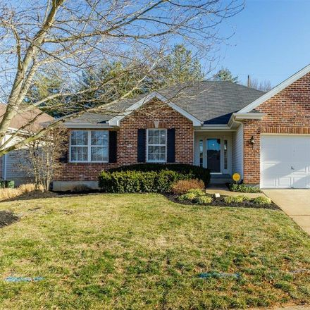 Rent this 3 bed house on 13632 Tesson Oaks Court in Saint Louis County, MO 63128