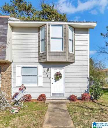 Rent this 2 bed townhouse on 2327 Grayson Valley Cir in Birmingham, AL