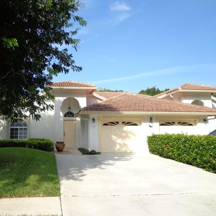 Rent this 3 bed apartment on 1141 Mulberry Place in Wellington, FL 33414