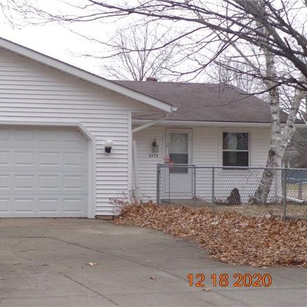 Rent this 3 bed house on 3474 Delbert Road in Eau Claire, WI 54703