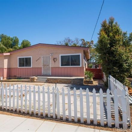 Rent this 3 bed house on 2247 Ilex Avenue in San Diego, CA 92154