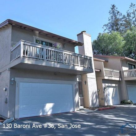 Rent this 2 bed townhouse on Baroni Ave in San Jose, CA