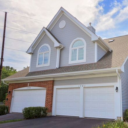 Rent this 4 bed townhouse on 1781 West Ethans Glen Drive in Palatine, IL 60067