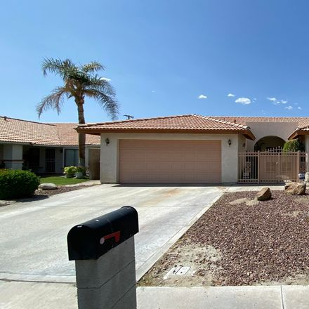 Rent this 3 bed house on 30925 Avenida Juarez in Cathedral City, CA 92234