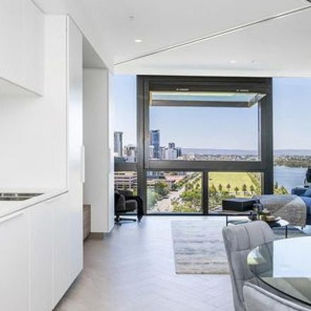 """Rent this 1 bed apartment on """"Spanda"""" Sculpture in Geoffrey Bolton Way, Perth WA 6000"""