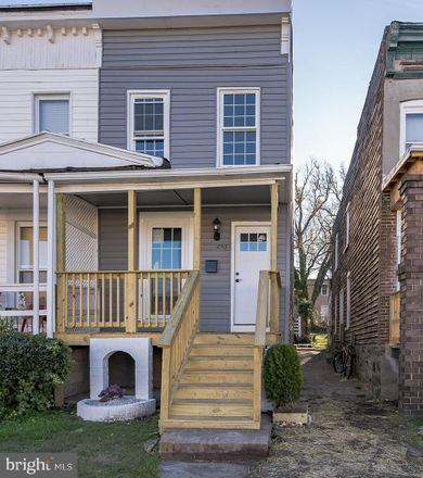 Rent this 3 bed townhouse on 2513 Ridgely Street in Baltimore, MD 21230