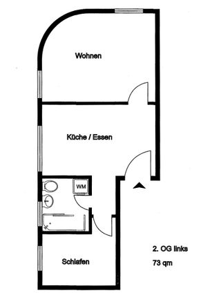 Rent this 3 bed apartment on Vinzenzstraße 2 in 47441 Moers, Germany