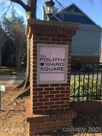Rent this 1 bed condo on Fourth Ward Square Condomiums in 525 North Graham Street, Charlotte
