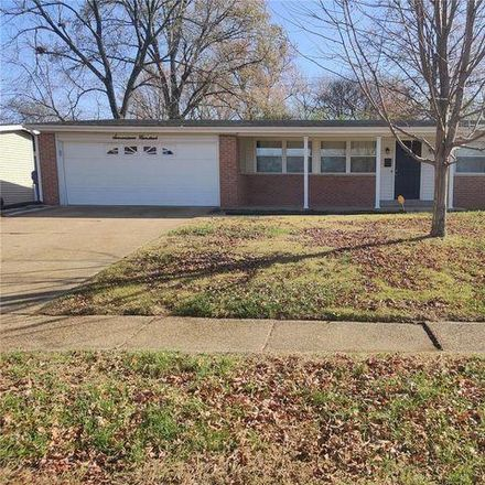 Rent this 3 bed house on 1700 Bay Meadows Drive in Florissant, MO 63033