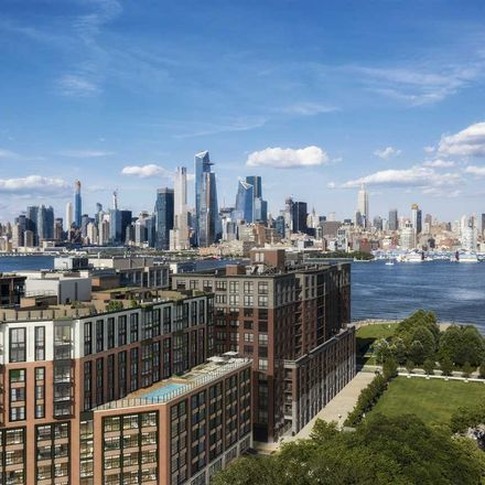 Rent this 1 bed condo on Maxwell Lane in Hoboken, NJ 07030