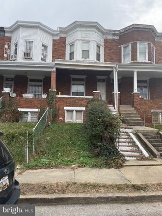Rent this 3 bed townhouse on 2331 Calverton Heights Avenue in Baltimore, MD 21216