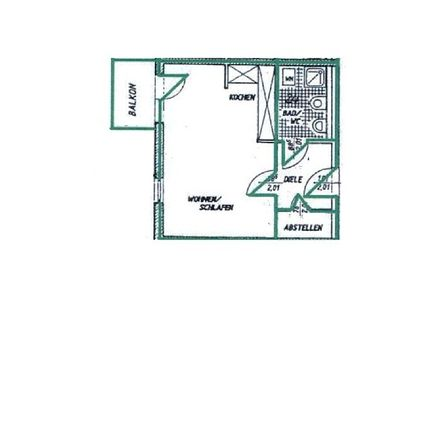 Rent this 1 bed apartment on 09456 Annaberg-Buchholz