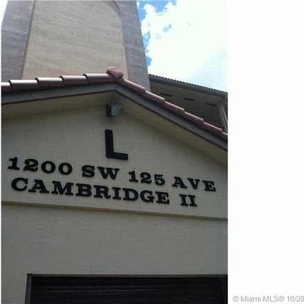 Rent this 1 bed condo on 1200 Southwest 125th Avenue in Pembroke Pines, FL 33027
