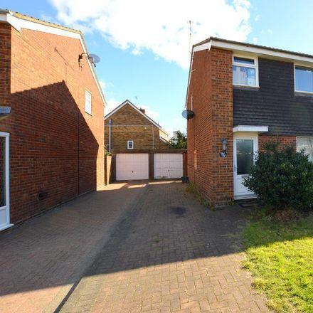 Rent this 3 bed house on Bembridge Gardens in Luton LU3 3SJ, United Kingdom