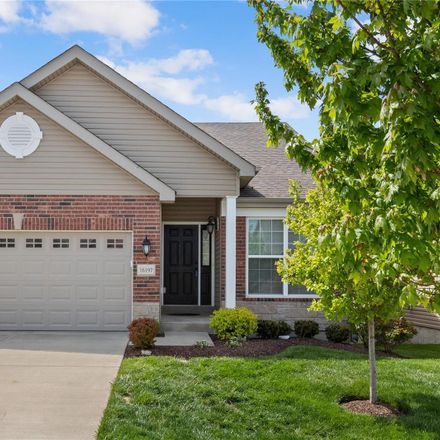 Rent this 3 bed house on 16197 Amber Vista Drive in Ellisville, MO 63021