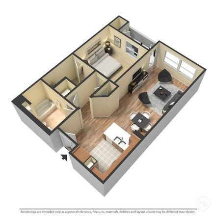 Rent this 1 bed apartment on Anaheim Canyon in North Grove Street, Anaheim