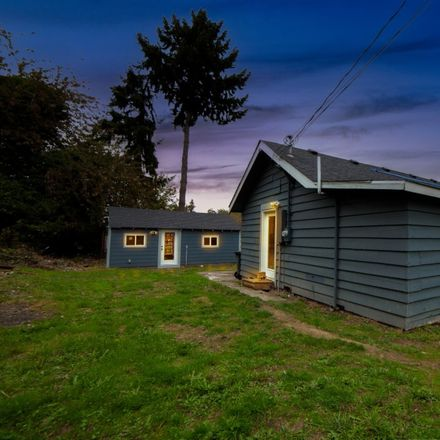 Rent this 2 bed house on 4614 South Alaska Street in Tacoma, WA 98418