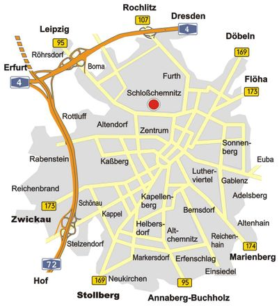 Rent this 3 bed apartment on Winklerstraße 14 in 09113 Chemnitz, Germany