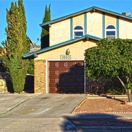 Rent this 4 bed apartment on 1850 Jack Nicklaus Drive in El Paso, TX 79935