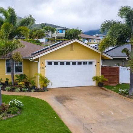 Rent this 3 bed house on 594 Komo Ohia Street in Wailuku, HI 96793