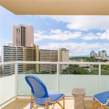Rent this 3 bed condo on Watermark in 1551 Ala Wai Boulevard, Honolulu