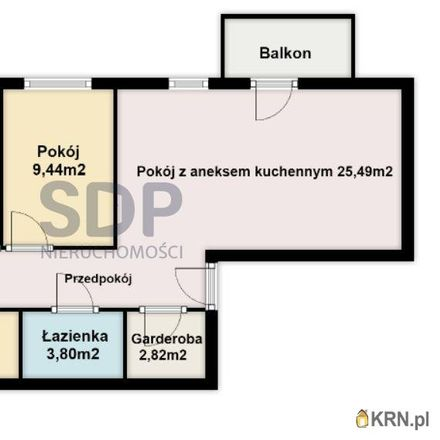 Rent this 4 bed apartment on Stanów Zjednoczonych 17 in 54-403 Wroclaw, Poland