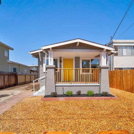 Rent this 3 bed house on 1451 103rd Avenue in Oakland, CA
