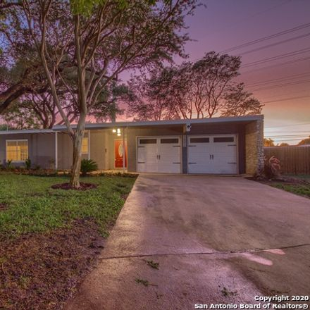 Rent this 3 bed house on 1802 Edgehill Drive in San Antonio, TX 78209