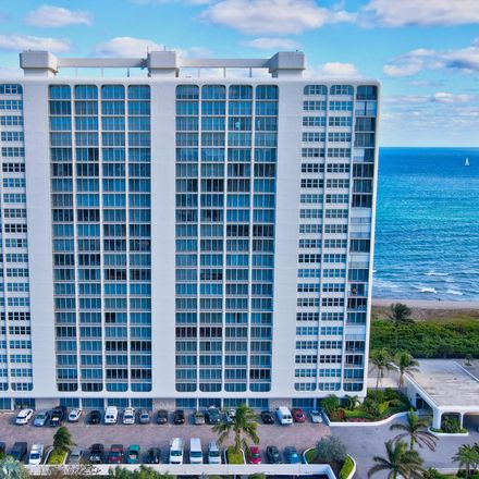 Rent this 2 bed condo on 2800 South Ocean Boulevard in Boca Raton, FL 33432