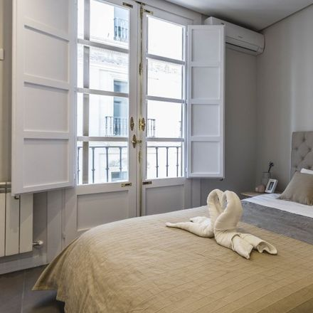 Rent this 1 bed apartment on Calle de Floridablanca in 28001 Madrid, Spain
