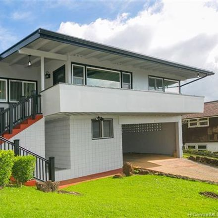 Rent this 3 bed house on 1482 Apona Street in Honolulu, HI 96819