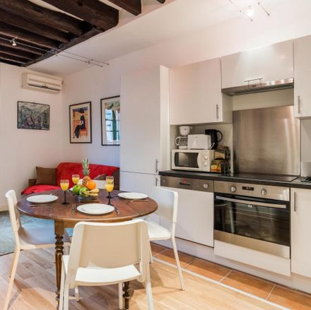 Rent this 1 bed apartment on Rue du Temple in 75003 Paris, France