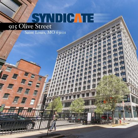 Rent this 2 bed condo on 915 Olive Street in Saint Louis, MO 63101