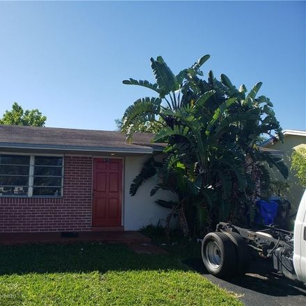 Rent this 2 bed duplex on SW 18th Ct in Pompano Beach, FL