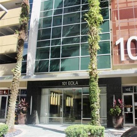 Rent this 1 bed condo on Mucho Liquor Store in Eola Drive, Orlando