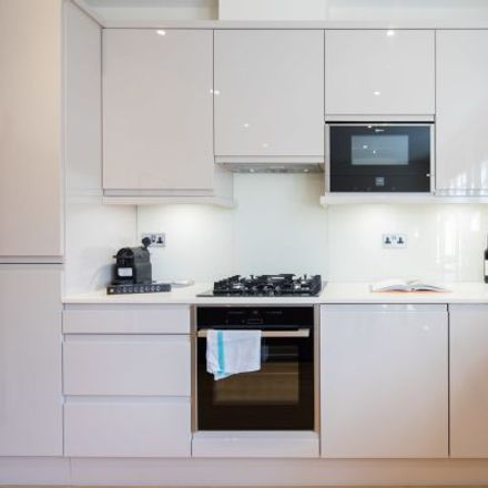 Rent this 1 bed apartment on Medina Mansions in 102 Great Titchfield Street, London W1