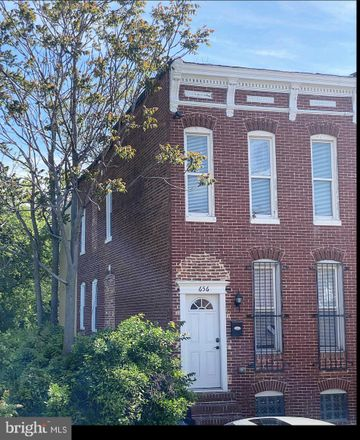 Rent this 3 bed townhouse on 656 Gutman Avenue in Baltimore, MD 21218