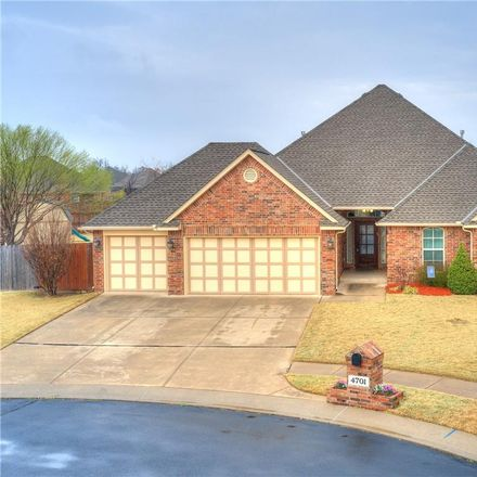 Rent this 4 bed house on 4701 Southwest 124th Place in Oklahoma City, OK 73173