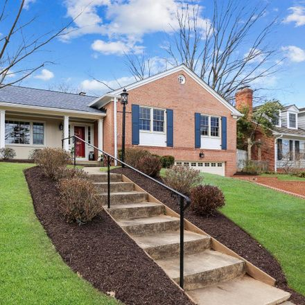 Rent this 3 bed house on 7206 Pomander Lane in Montgomery County, MD 20815