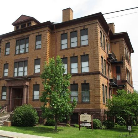 Rent this 1 bed apartment on 280 Garfield Street in Johnstown, PA 15906