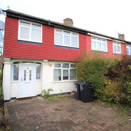 Rent this 3 bed house on Barnsbury Crescent in London KT5 9RF, United Kingdom