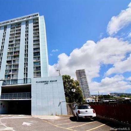 Rent this 2 bed condo on 2630 Kapiolani Boulevard in Honolulu, HI 96826