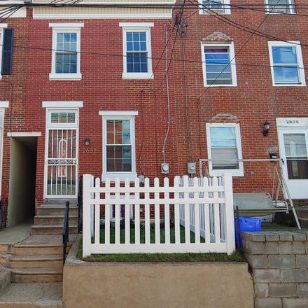 Rent this 3 bed townhouse on 2632 Haworth Street in Philadelphia, PA 19137