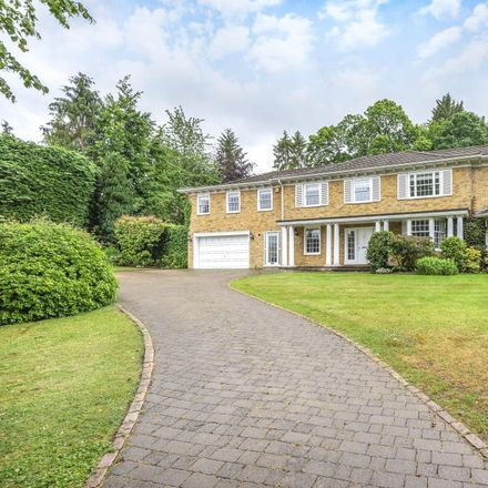 Rent this 5 bed house on Queens Hill Rise in Ascot SL5 7SJ, United Kingdom